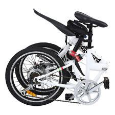 Ridgeyard Bicicletta pieghevole 20 pollici Bici per bambini adulti a 7 Rapporti