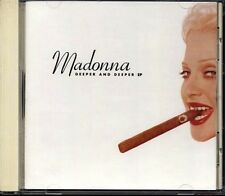 MADONNA Deeper And Deeper JAPAN CD 12 Tracks 1993 WPCP-5244 RARE!