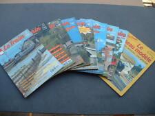 Lot de 9 magazines Le Train (9012) !