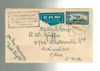 1937 New Zealand Auckland to samoa FFC First Flight Cover