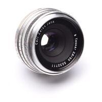 Carl Zeiss Jena 50mm F2.8 Tessar Lens with Praktina Mount