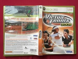 XBOX 360 VIRTUA TENNIS 2009 NTSC-J TESTED WORLD FREE POST