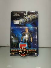 "Babylon 5 1997 Ambassador G'Kar 6""in Action Figure w/ Narn Fighter 1997 Wb"