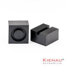 1 x  Gummiauflage Gummiblock Hebebühne Wagenheber Gummiauflagen 85x85x50mm