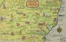 Suffolk with Parts of Cambridgeshire and Essex (Blank) | J. Salmon