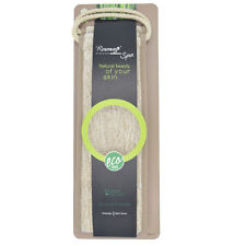 Exfoliating Bamboo Rubbing Back Strap Bath Shower Body Scrubber Brush Sponge