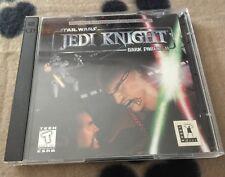 EUC Star Wars Jedi Knight - Dark Forces II 2 Disc Set No Scratches No Manual