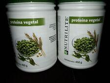 Nutrilite Protein 2PACK Powder Vegetal Amway 450gr EACH ONe