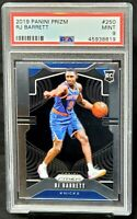 2019 Prizm Knicks RC Star RJ BARRETT Rookie Basketball Card PSA 9 MINT Low Pop