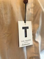"BNWT TED BAKER LONDON Men's Endurance Timeless Long Sleeve Shirt. Collar 17"""