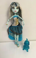 Monster High 13 Wishes Haunt the Casbah Frankie Stein Doll With Lantern