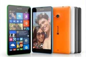 Nokia Microsoft Lumia 535 Windows Quad Core 1GB RAM 8GB ROM Dual SIM Cell Phone