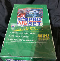 1990 Pro Set NFL Football Cards Series 1 Wax Pack Box Factory Sealed NEW