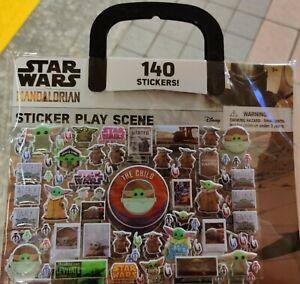 Star Wars The Mandalorian The Child Sticker Set 140 stickers