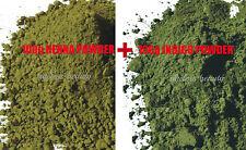 100% Pure HENNA + INDIGO Powder 100g+100g Natural Herbal Hair Dye Colorant Black