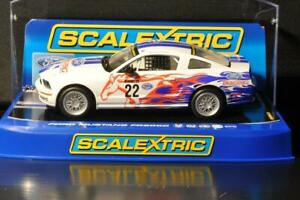 SCALEXTRIC C3000 FORD MUSTANG FR 500C RACING PERFORMANCE PARTS COLLECTOR GRADE