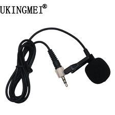 Cardioid Lapel Microphone Compatible Mic Sennheiser For AKG Shure Audio Technica