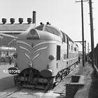 "2.25"" Railway Negative, English Electric Diesel Loco at Vulcan Works, 1957"