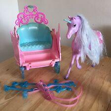 Barbie 2002 Mattel Horse & Cart