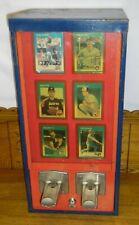 Vintage Sports Card Center Vending Machine &Key Baseball Football NHL Basketball
