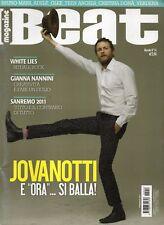 Beat 2011 54.JOVANOTTI,GIANNA NANNINI,CRISTINA DONà,VERDENA,BRUNO MARS,GLEE