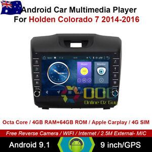 """9"""" Android 10.1 Octa Core Car Non DVD GPS For Holden Colorado 7 2014-2016"""