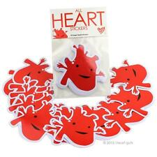 ALL HEART STICKERS I HEART GUTS GIANT STICKER PACK OF 15 STICKERS SET
