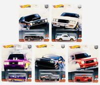 🔥 HOT WHEELS 2020 PREMIUM CAR CULTURE POWER TRIP SET OF 5 🔥