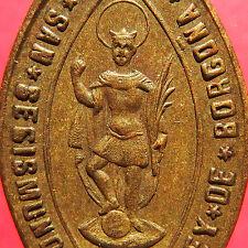 ST MICHAEL OF THE SAINTS MEDAL OLD ST SIGISMUND KING OF BURGUNDY CHARM PENDANT