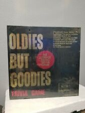 Oldies But Goodies & Rock N Roll Replay Board Games Music Cassettes Trivia