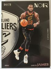 LeBron James 2017-18 Panini Noir Away Base /79 SP Cavaliers Lakers Rare