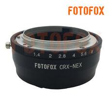 FOTOFOX CRX-NEX Adapter For Contarex CRX mount Lens to Sony E A9 A7R3 A6300 A7M2