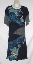 Vintage 80's Spencer Alexis Long Skirt & Top Set – Navy Blue – Size 12 – Evc