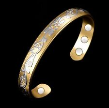 Bracelet magnétique cuivre avec aimants Verbenia