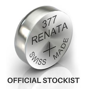 377 Renata Watch Battery SR626S Swiss Button Cell Batteries High Quality