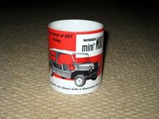 Morris Mini Moke Advertising MUG