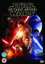 Star Wars - The Force Awakens (DVD, 2016) Region 2 - Brand new - Quick Dispatch