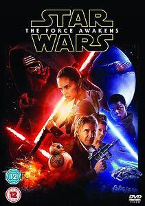 Star Wars - The Force Awakens (DVD, 2016) Region 2 - Brand new - Quick Dispatch