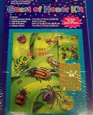 Bugs Everywhere Insect Kids Birthday Party Guest of Honor Kit