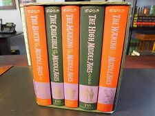 Folio Society THE STORY OF THE MIDDLE AGES, 5 Vols, 1998 1st,  Slipcase, History