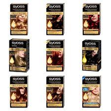Genuine SYOSS Oleo Intense Professional Permanent Hair Color NO Ammonia DBL OIL