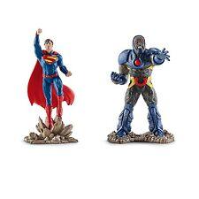 Dc Comic's Justice League Superman Vs. Darkseid 2 Pack Pvc Figurine