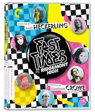 Fast Times at Ridgemont High Criterion Collection Region B Blu-ray