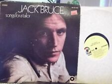 JACK BRUCE SONGS FOR A TAILOR LP ON ATCO RECORDS