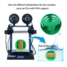 HICTOP 24V D3 Hero Independent Dual Extruder Direct Feed 3D Printer 30*30*35cm