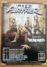 STEEL PANTHER 2015 UK Tour magazine ADVERT/Poster/clipping 11x8 inches