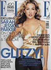 ELLE Magazine September 2000 Sarah Jessica Parker