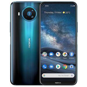 Nokia 8.3 5G    Auflösung  2400×1080  8×2, GHz  6GB  64GB dual SIM LTE BLAU