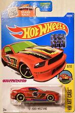 Hot Wheels 2016 Hw Art Voitures '07 Ford Mustang #8/10 Rouge Emballage D'Origine