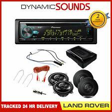 Land Rover Defender >2012 DAB Stereo / Subwoofer / DAB Splitter/ Speaker Kit